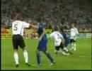【伝説】サッカー 2006年W杯 イ  タ  リ  アVSド  イ  ツ【準決勝】