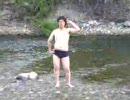 川でハレ晴レユカイを踊ってみた