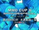 【第2回】MikuMikuDanceCup SPRING&SPECIAL 本選動画一覧【MMD杯】