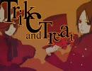 【手書きリボーン】t-rick and trea-t