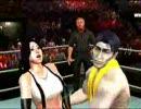 WWE SvR2009 ティファ 対 鬼作