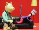 ネコ耳娘が巻き込まれるトラブルを描いたクレイアニメ「PUSSYCAT」 thumbnail