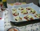 【ニコニコ動画】餃子の皮で簡単☆ギョーザピザを解析してみた