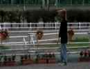 あみまみ☆十勝つくちて♪杯で気だるそうに歩く馬を激写