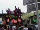 杭全神社 夏祭り 2007 市組、流町地車