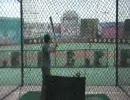ラスベガスの原寸球場バッティングセンター