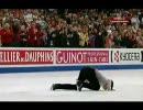 【ニコニコ動画】デニス・テン 世界選手権 2009 FS RTR を解析してみた