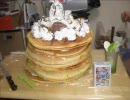 【ケーキ】少し大きめのホットケーキを焼いてみた。【練成&撃破】 thumbnail