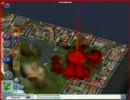 シムシティ4 災害で都市崩壊