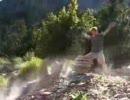 [超能力]岩を引き寄せる男[逆再生]