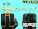 【ニコニコ動画】月刊鉄道ランキング - 09年3月版 #4を解析してみた