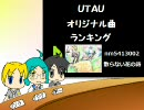 月刊UTAUオリジナル曲ランキング#09年3月度