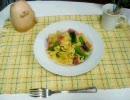 【ニコニコ動画】【手打ちパスタ】菜の花とベーコンのタリアテッレ【簡単】を解析してみた