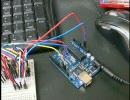 8Bitラッチレジスタ直列繋ぎを使ったLED点滅制御習作