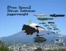 SFの巨大宇宙船&建造物比較図 富士山→日本列島→そして....