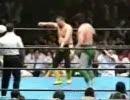 【ニコニコ動画】川田利明の受身50連発!!(くらい?)を解析してみた