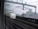 新幹線車窓(浜松→掛川)