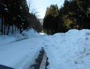 バイクで積雪のヤビツ峠を走ってみた