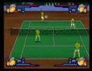 テニスの王子様スマッシュヒット2 一人でダブルス 白菜ver. 2倍速