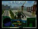 ジオニックフロント MISSION01 「フェンリルの牙」 プレイ(単機出撃)
