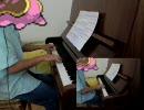 ポケモンDPtの228番道路(夜版)をピアノ多重録音で弾いてみた