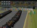 【rFactor】F1カー63台でレース inオーストラリア【F1】