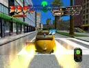 Crazy Taxi 3 Windows版 プレイ動画 (West Coast 編)