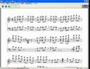 パーフェクトさんすう教室のピアノ楽譜を作ってみた