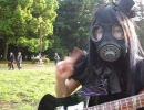【けいおん】夏なので公園でCagayake! GIRLS弾いてみた【代々木公園】