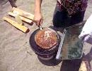 【印刷屋】がキャンプでジャンボハンバーグ作ってみた! thumbnail