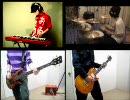 【けいおん!フル】Cagayake!GIRLSのキーボード弾いてみた【Gt+Ba+Dr+Key】 thumbnail