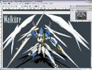 天使っぽい人型兵器を描いてみた【オリジナル】