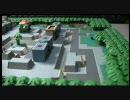 ポケモンプラチナにでてくるトバリシティを紙で建設してみる。