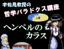 宇佐見教授の哲学パラドクス講座① ~ヘンペルのカラス thumbnail