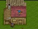 牧場物語2のバグ(その11) 台風と階段と犬