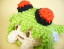 【あみぐるみ】GUMI(メグッポイド)を一頭身化して編んでみた