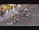 【ニコニコ動画】【ツール・ド・フランス】Tour De France 2009 St.2 Last 5kmを解析してみた
