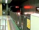 札幌市営地下鉄東西線 新さっぽろ駅 2番ホーム入線