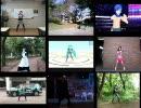 【DIVA】踊ってみた 「みくみくにしてあげる♪【してやんよ】」 9本比較 thumbnail