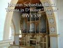 """J.S.バッハ「トッカータとフーガ""""ドリア調""""」BWV538からトッカータ"""