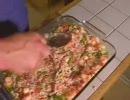 海老と野菜のグラタンを作ります。