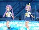 【MikuMikuDance】柊姉妹に物理演算を組み込んでみた