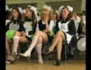 ロシアの卒業式の風景