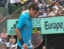 【テニス】フェデラーvsダビデンコ 全仏オープン2007