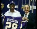 【NFL】現役最高のランナー エイドリアン・ピーターソン