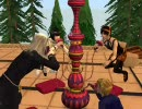 Sims2でジョジョ5部 護衛の日常