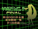 【第3回】MikuMikuDanceCup TRILOGY 本選動画一覧【MMD杯】