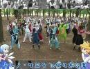 【ニコニコ動画】【ダンスオフ】チルノ・ケロ9 in 代々木公園 チルノ【8/22】を解析してみた