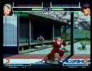KOF2002対戦動画 Duelling the KOF rt3rd エジ 対 ポポリン