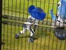 20090901 浜松球場 8回表ドアラバク転
